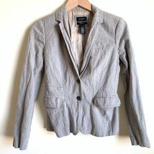 J Crew Schoolboy Blazer Jacket Long Sleeve Size 0